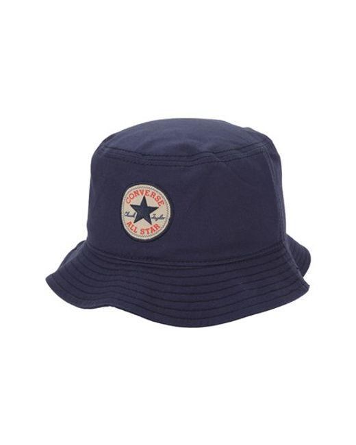 Converse   Blue 'classic' Bucket Hat for Men   Lyst