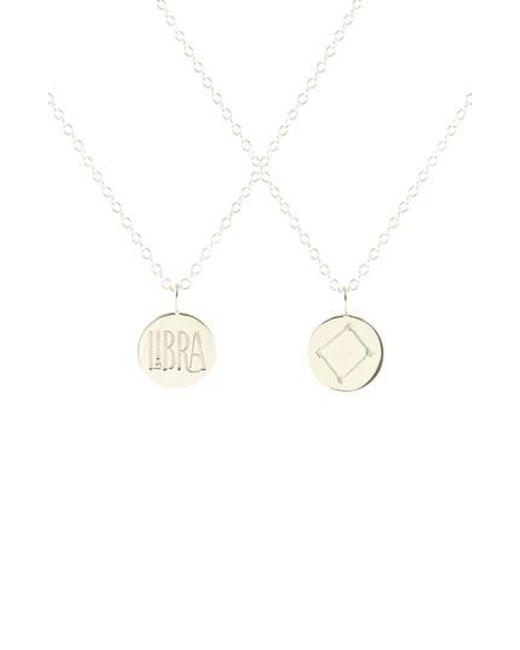 Kris Nations | Metallic Zodiac Charm Necklace | Lyst