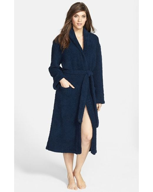 Barefoot Dreams | Blue Barefoot Dreams Cozychic Robe | Lyst