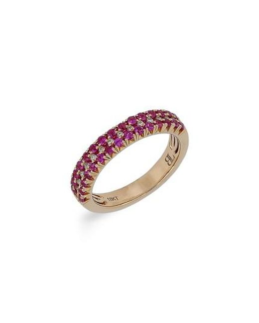 Bony Levy - Multicolor Ruby & Diamond Ring (nordstrom Exclusive) - Lyst