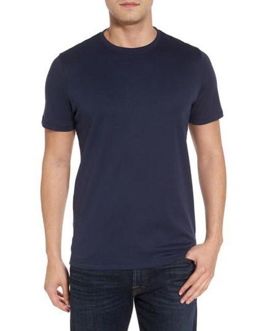 Robert Barakett | Blue 'georgia' Crewneck T-shirt for Men | Lyst