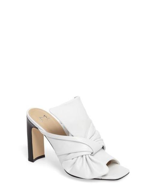 Marc Fisher | White Hogan Sandal | Lyst