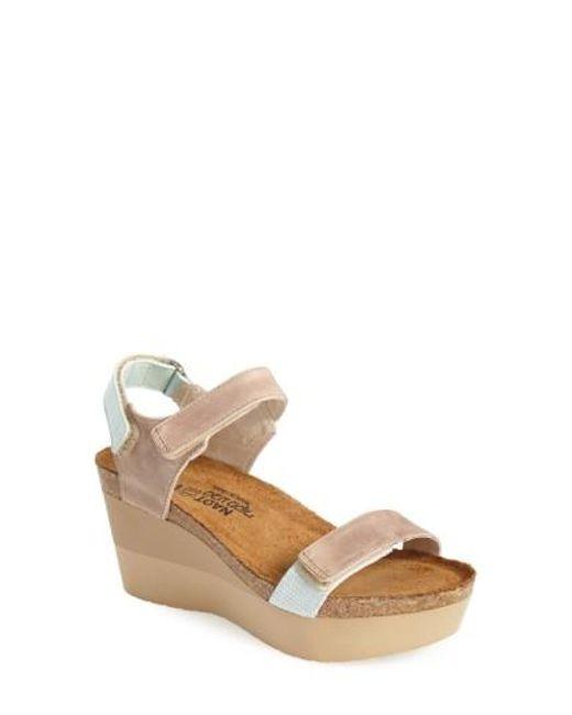 Naot | Natural 'miracle' Sandal | Lyst