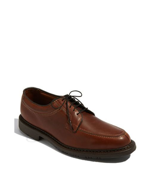 Allen Edmonds | Brown 'wilbert' Split Toe Derby for Men | Lyst