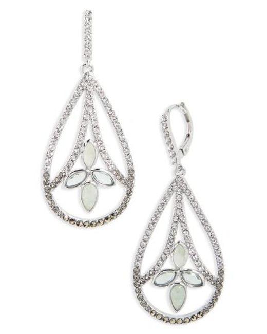 Judith Jack | Metallic Lakeside Crystal Drop Earrings | Lyst