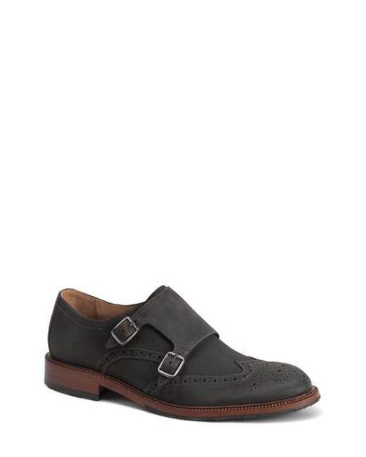 Trask | Multicolor Leland Double Monk Strap Shoe for Men | Lyst