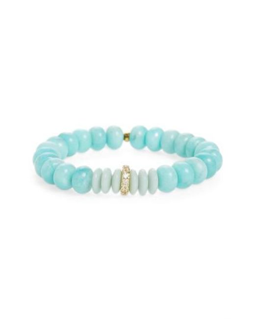 Elizabeth and James | Blue Rosa Miles Quartz Bracelet | Lyst