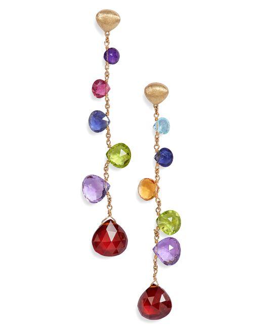 Marco Bicego - Multicolor Paradise Drop Earrings - Lyst
