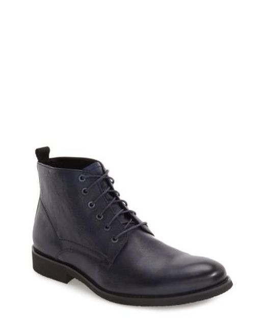 Zanzara | Blue 'nereto' Plain Toe Boot for Men | Lyst