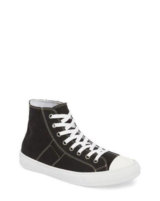 MM6 by Maison Martin Margiela - Multicolor Maison Margiela Stereotype High Top Sneaker for Men - Lyst