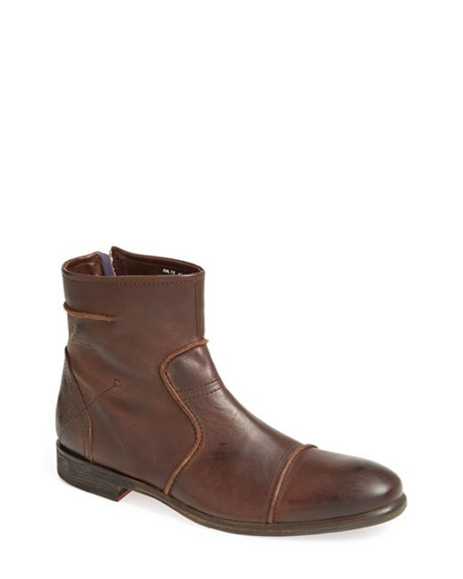 Blackstone | Brown 'am 19' Zip Boot for Men | Lyst