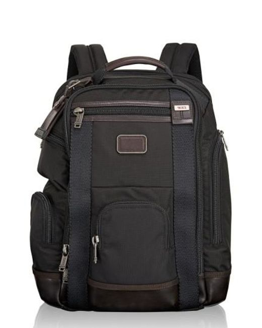 Tumi | Black 'shaw Deluxe' Water Resistant Backpack for Men | Lyst