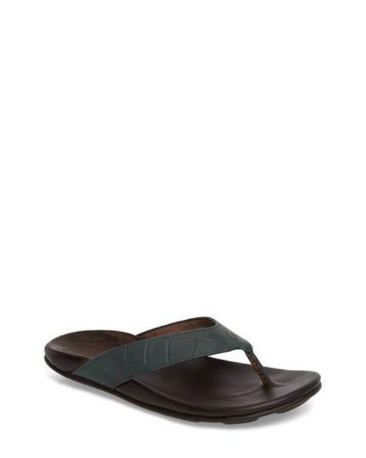Olukai - Multicolor Kohana Kai Flip Flop for Men - Lyst