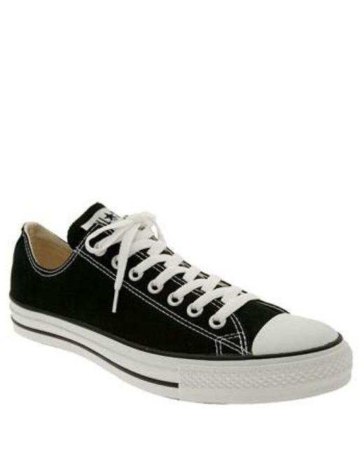 Converse | Black Chuck Taylor Low Sneaker for Men | Lyst