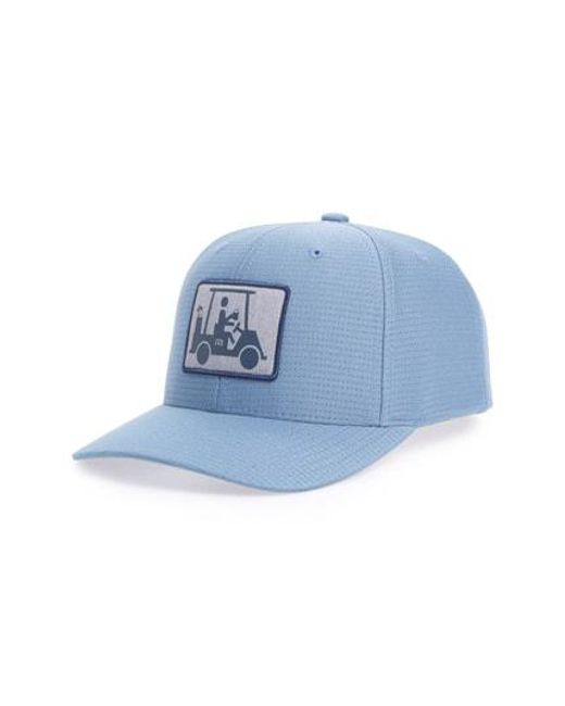 Travis Mathew - Blue Coming In Hot Snapback Cap for Men - Lyst