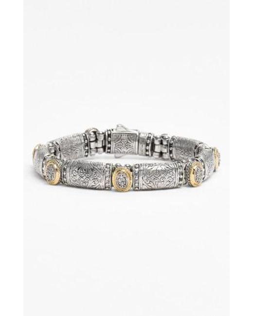 Konstantino   Metallic 'classics' Diamond Bracelet   Lyst