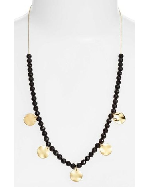 Gorjana | Metallic Adjustable Necklace | Lyst