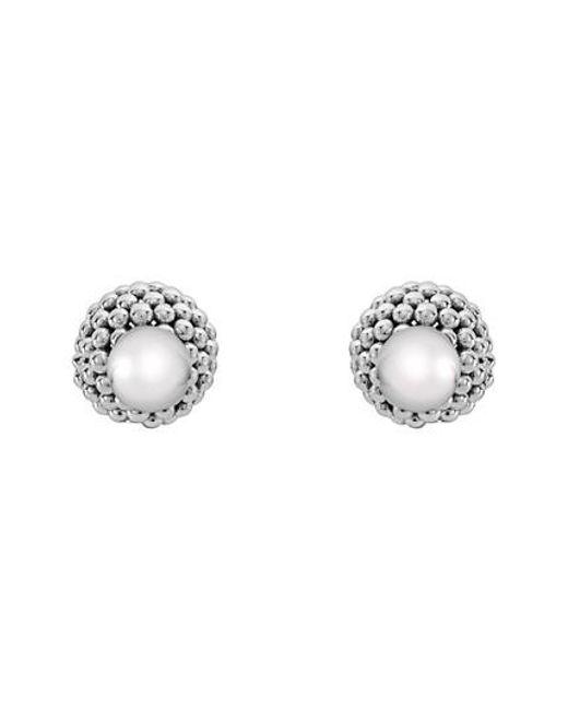 Lagos - Metallic Front/back Earrings - Lyst