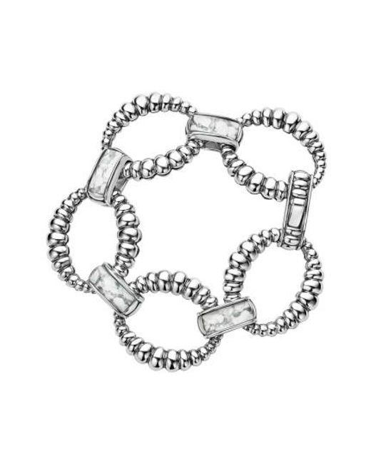 Lagos   Metallic Maya Fluted Link Bracelet   Lyst