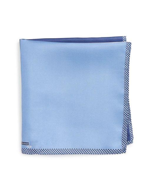 Nordstrom - Blue Panel Silk Pocket Square for Men - Lyst