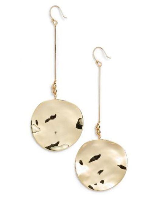 Gorjana | Metallic Chloe Drop Earrings | Lyst