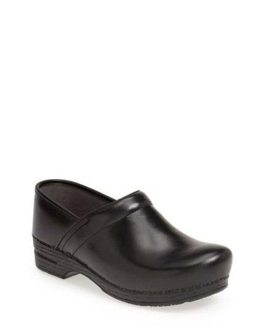 Dansko | Black 'pro Xp' Slip-on for Men | Lyst