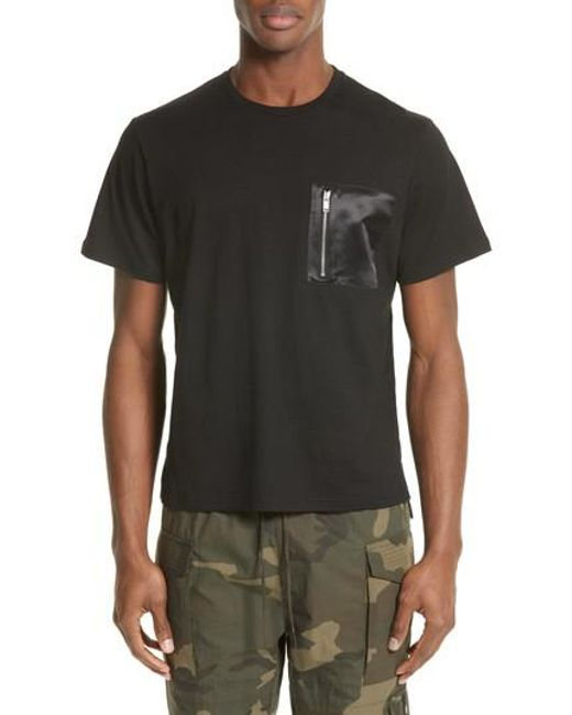 Ovadia And Sons | Black Zip Pocket T-shirt for Men | Lyst