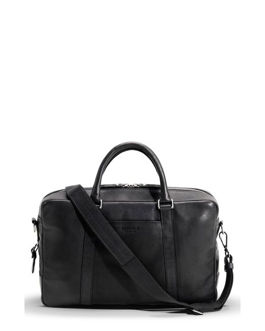 Shinola - Black Leather Briefcase for Men - Lyst