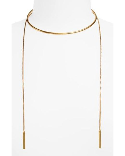 Madewell - Multicolor Chain Choker Necklace - Lyst