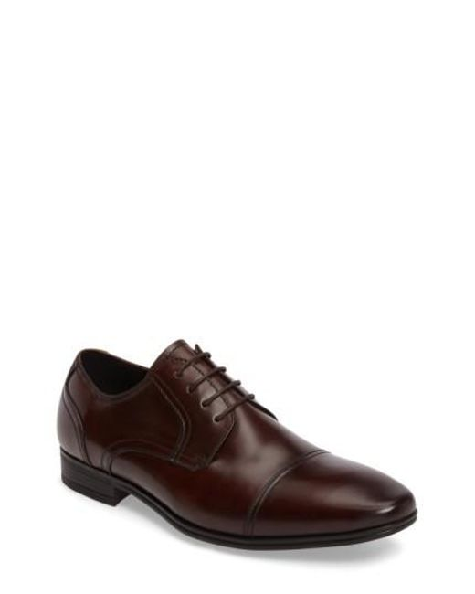 Kenneth Cole Reaction   Brown In A Min-ute Oxford for Men   Lyst