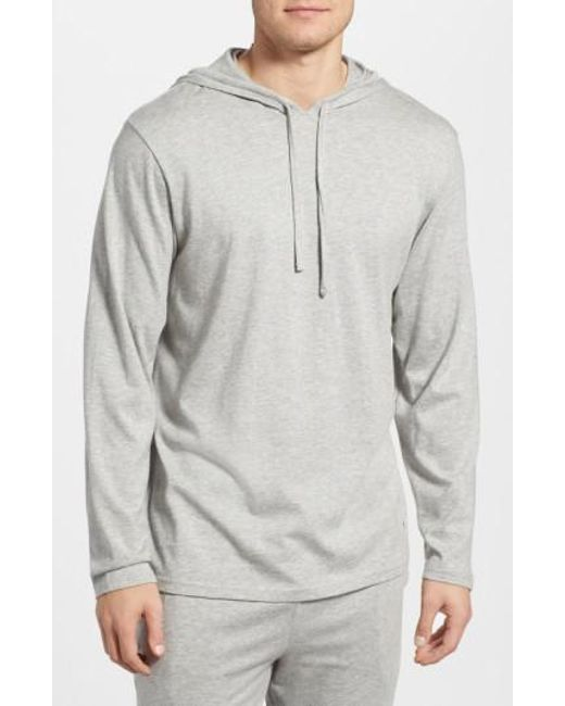 Polo Ralph Lauren - Gray Pullover Hoodie for Men - Lyst