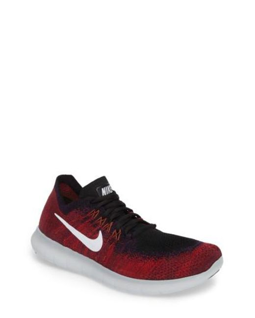 Nike - Blue Free Run Flyknit 2017 Running Shoe for Men - Lyst