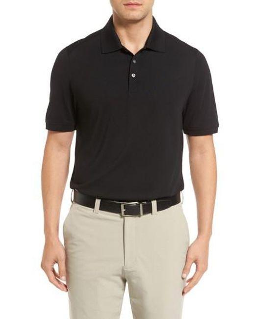 Cutter & Buck - Black Bayview Quarter Zip Pullover for Men - Lyst