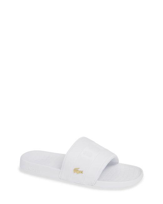Lacoste - Black Fraisier 118 Slide Sandal for Men - Lyst