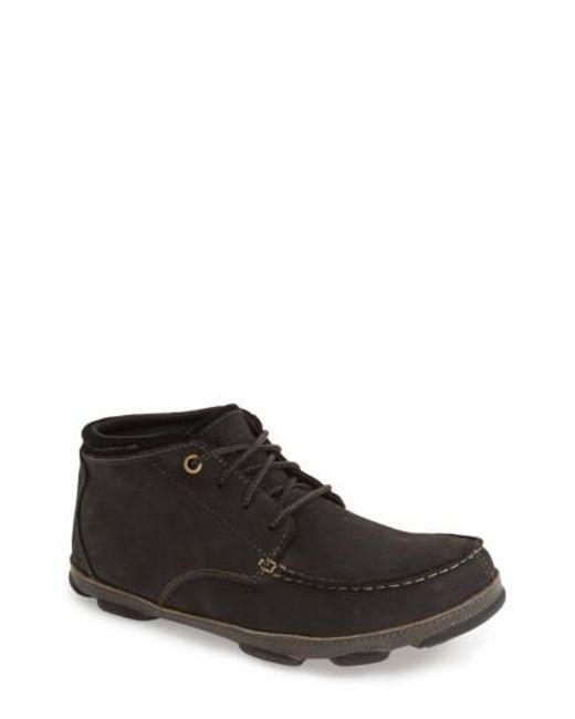 Olukai | Black 'hamakua' Moc Toe Boot for Men | Lyst