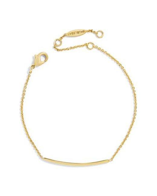 BaubleBar | Metallic Asta Everyday Fine Bracelet | Lyst