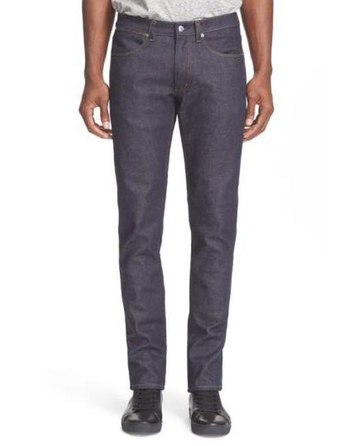 Acne - Blue Max Slim Straight Leg Jeans for Men - Lyst