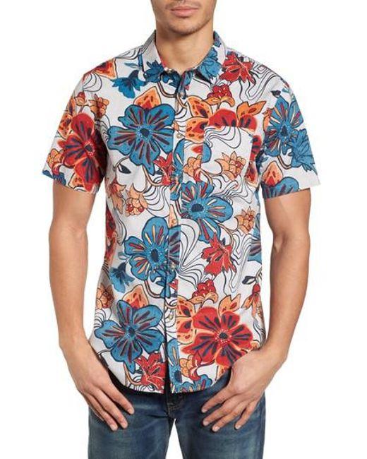 Billabong - Blue Sundays Floral Shirt for Men - Lyst