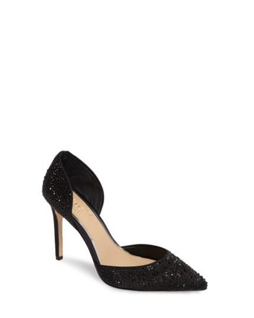 Badgley Mischka - Black Alexandra D'orsay Pump - Lyst