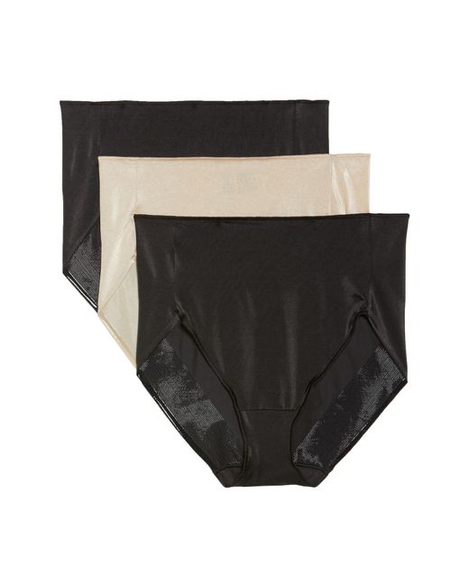Tc Fine Intimates - Black 3-pack High Waist Briefs - Lyst