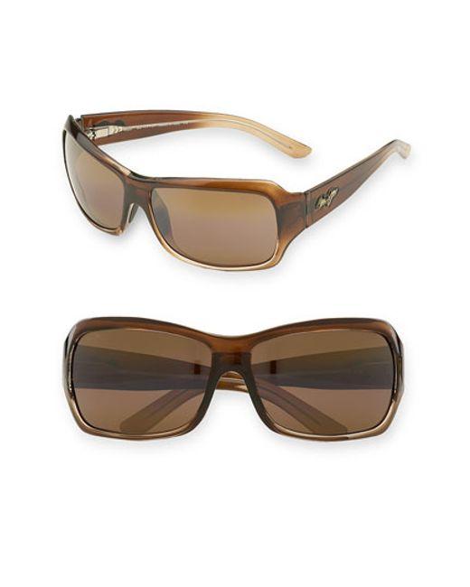 Maui Jim | Brown Palms 63mm Polarizedplus2 Sunglasses | Lyst