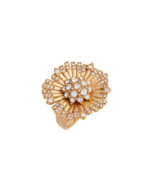 Vince Camuto - Metallic Danish Garden Flower Ring - Lyst