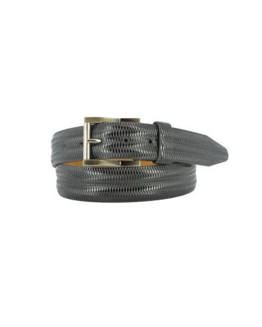 Remo Tulliani - Black Lux Leather Belt for Men - Lyst