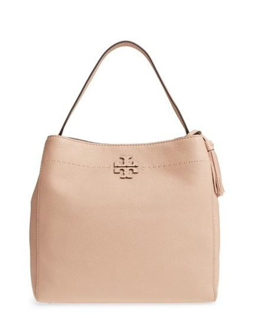 Tory Burch - Multicolor Mcgraw Leather Hobo - Lyst