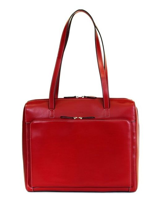 Lodis | Red 'audrey Collection - Organizer' Tote With Shoulder Strap | Lyst