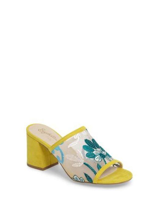 Seychelles | Yellow Nursery Block Heel Sandal | Lyst