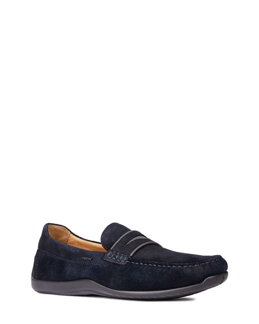 Geox - Blue Xense Mox 15 Penny Loafer for Men - Lyst