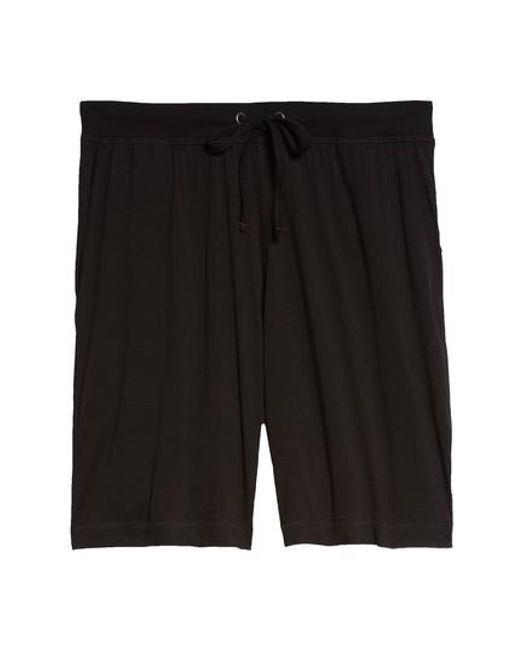 Daniel Buchler - Black Peruvian Pima Cotton Shorts for Men - Lyst