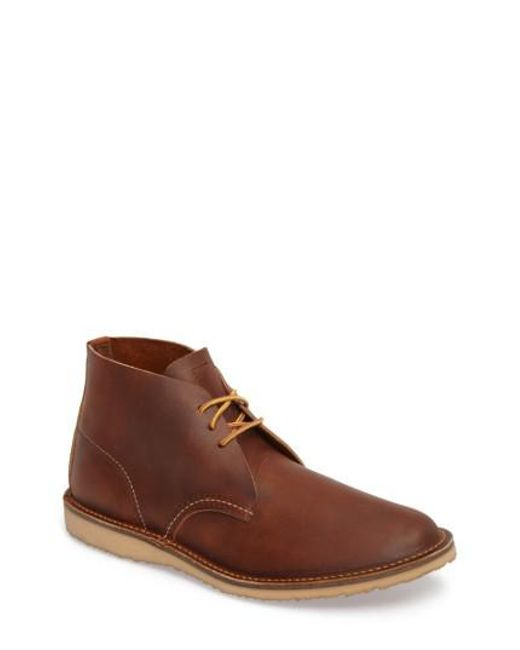 Red Wing - Brown Chukka Boot for Men - Lyst