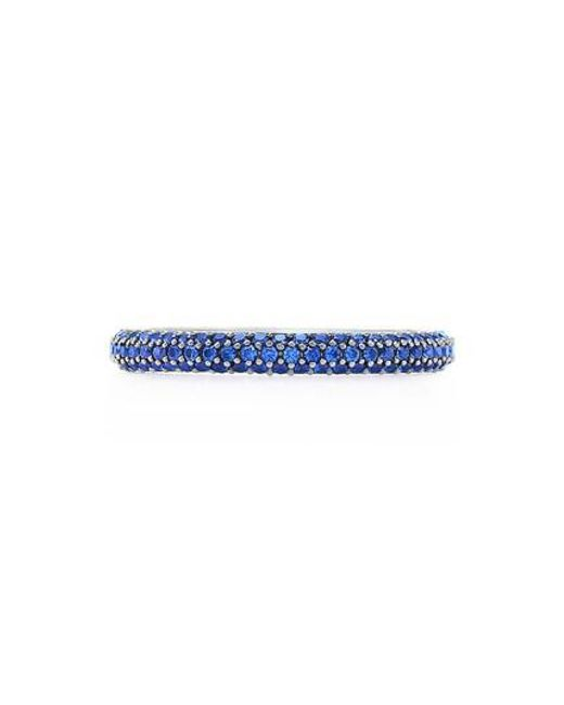 Kwiat - Blue Moonlight Sapphire Stacking Ring - Lyst